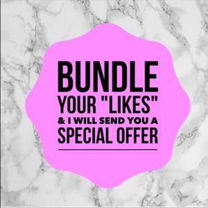 Bundle and save🤗🤗🤗🤗